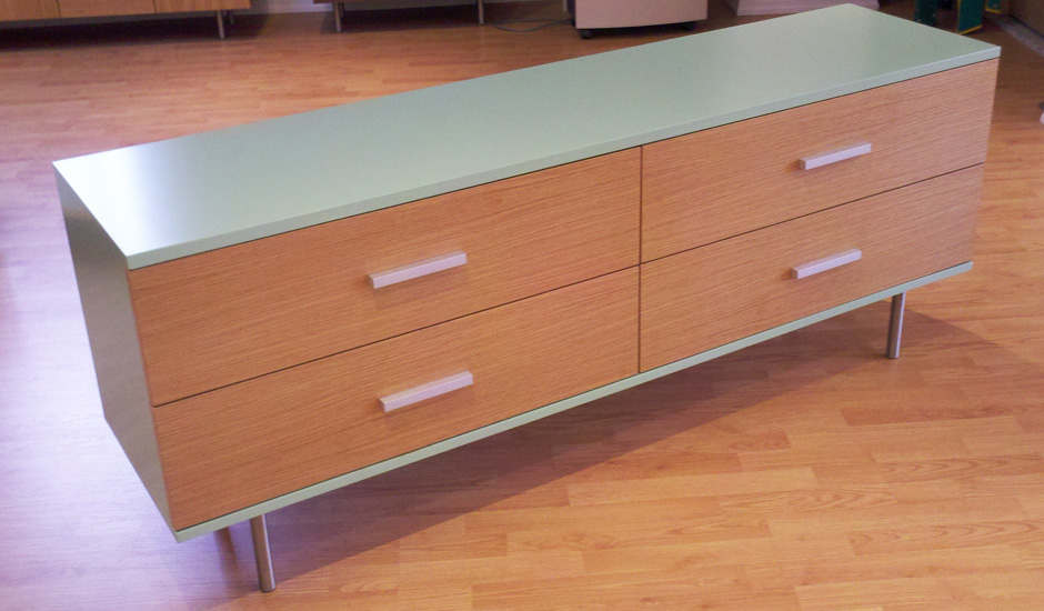 CLERMONT-4-DRAWER-Celadon-and-white-oak